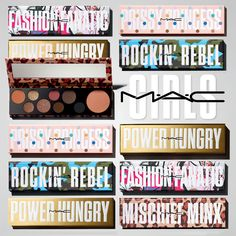 Whether you're a Rockin' Rebel, Mischief Minx, Fashion Fanatic, Basic Bitch, Prissy Princess or simply, unapologetically Power Hungry, shout it out! Make up, speak out. Show the world who you really are. AVAILABLE NOW!