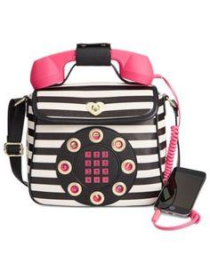 Betsey Johnson Phone Crossbody | macys.com