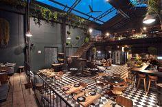 Restaurante Romita, ciudad de Mexico #decoracion #restaurante