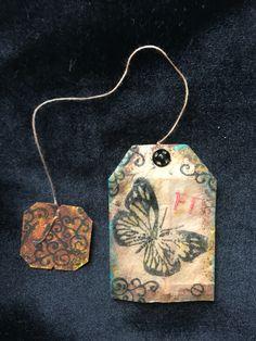Teabag bookmarks By Edith Fernandez