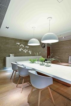 Casa Sustentável Como Tributo à Tecnologia Moderna-sala de jantar