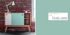 '20:20' cabinet, made with Formica® Laminate in Dusty Jade, by @jamesdesign.
