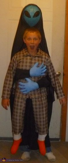 Abducted by Alien Costume - Halloween Costume Contest via @costume_works