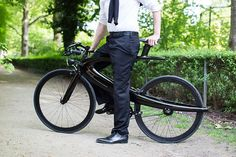ecce cycles from pierre lallemand escape the typical triangular frame