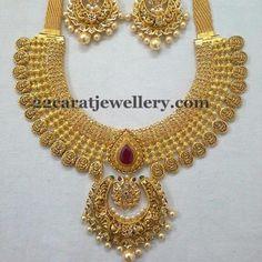 Nakshi Uncut Diamond Necklace