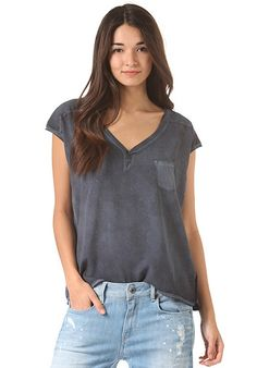G-STAR KSHW MX V T C - T-Shirt für Damen - Blau - Planet Sports