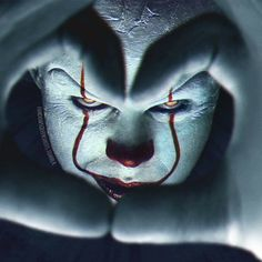 Clown Horror, Creepy Clown, Arte Horror, Horror Art, Horror Movie Characters, Horror Movies, Lost Boys Movie, It Movie 2017 Cast, Bill Skarsgard Pennywise