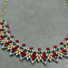 Willow Necklace - 03/28/15 de Art Glass & Bead Show   Square Market