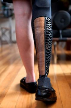 Industrial designer Scott Summit makes amazing prosthetic leg coverings