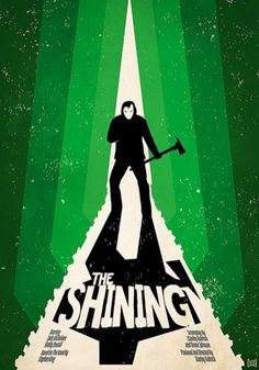 """The Shining"" from Smart Aesthetic: Super Sweet Movie Posters"