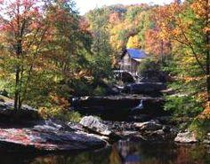 Appalachian autumn in West Virginia.