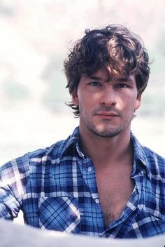 Patrick Swayze. I love you, P. Swayze. R.i.p. Male actor, dancer, artist, Dirty Dancing, portrait, photo