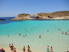 Paradise Bay Beach - Malta, I can't wait until August!