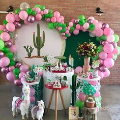Festa llhama e cacto Wall Art reclaimed wood wall art Party Decoration, Balloon Decorations, Birthday Decorations, Baby Shower Decorations, Mexican Birthday, Mexican Party, Llama Birthday, Baby Birthday, Shower Party