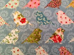 Fabric Fixation - Birds Birds, Fabrics, Animals, Tejidos, Animales, Animaux, Bird, Animal, Animais