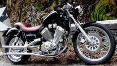 Virago 535 virago t Bobbers Choppers and Wheels Yamaha Virago, Virago 535, Yamaha 125, Honda Fury, Honda Shadow, Bobber Chopper, Motorcycle Art, Toys For Boys, Boy Toys