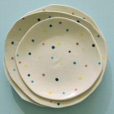 confetti plate $20 from wendy june