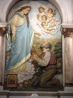 Nuestra Señora de Montallegro, aparición de la Virgen a Giovanni Chichizola 1557