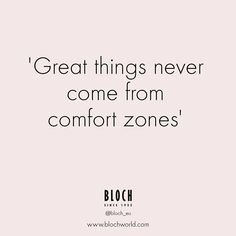 Monday Morning Motivation from Bloch Europe!! How far can you push yourself this week!