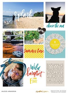 paislee press creative team inspiration | Summer + Photocentric No. 3