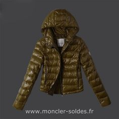 f65973638e41 Moncler France Pas Cher- Doudoune Moncler France Sport Chic Vert