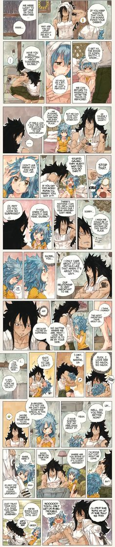Gajeel and Levy 1. x33 <3<3<3
