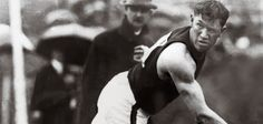 Jim Thorpe 1912 Stockholm Games. Hands down the greatest athlete of all time