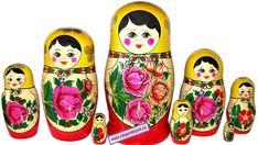 Russian nesting doll Matryoshka - Beauty will save Melania Trump Ring, Russian Folk Art, Tribal Women, Future Tattoos, Fashion Art, Arts And Crafts, Beautiful Women, Dolls, Style