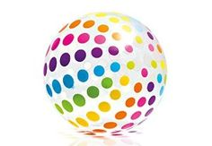 Jumbo Ball (Pack of - Bring big fun to the beach with the INTEX Jumbo Beach Ball! This giant beach ball features a classic transparent design with colorful panels. Including one repair patch, the INTEX Jumbo Beach Ball makes every outing more fun. Beach Ball Games, Inch Beach, Swimming Pool Accessories, Pool Games, Party Games, Gym Games, Lawn Games, Transparent Design, Giant Inflatable