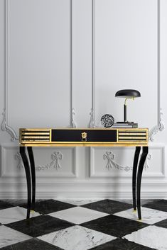 Created by master craftsmen, the High End Decorative Black Console Table at Juliette's Interiors. A unique design that has an elegant personality with ornate detailing and slender curved legs. Divine in any setting, making a statement!
