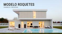 Torrent concrete modular house 4D 2P 2.225 - inHAUS Porches, Modular Structure, Plan Design, Concrete, Villa, Exterior, Contemporary, House Styles, Outdoor Decor