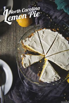 North Carolina Lemon Pie \\ PasstheSushi.com