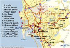 Interactive Map of San Diego