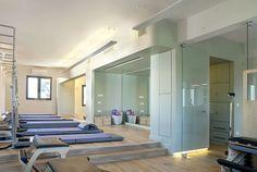 Studio pilates san tsai in athens by Ioanna Polymenea #pilates #interiors #architecture #studio
