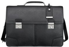 Black Leather Briefcase by Tumi. Buy for $895 from Nordstrom