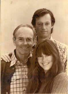 Henry, Peter and Jane Fonda