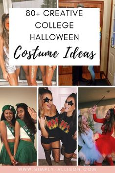 Halloween is rapidly approaching and I know that it's time to start looking for some college Halloween costume ideas. Whether you're a guy,  girl, couple, or a big group  I created the ultimate list of easy costumes that won't break the bank. #halloween #halloweencostumeideas #collegehalloween Easy Halloween Costumes, Halloween Nails, Halloween Makeup, Halloween College, Diy Halloween Games, Halloween Office, Halloween Recipe, Pretty Halloween, Halloween Couples