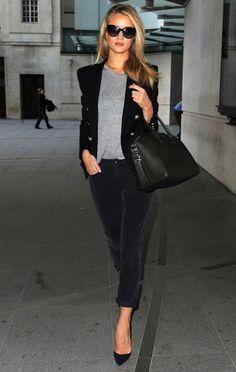 rosie-huntington-whiteley-style-blazer