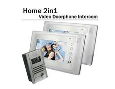 INS-DP03 Home Security 2 in 1 Camera 7inch Color Video Door Phone Intercom (Silver) by QLPD. $735.02. This is a home security video door phone intercom with indoor call function.