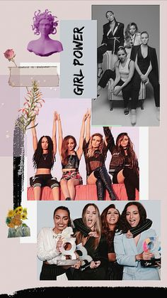 Little Mix Girls, Little Mix Style, Girl Gang Aesthetic, Little Muffins, Litte Mix, Band Wallpapers, Biracial Hair, Real Queens, Mixed Girls