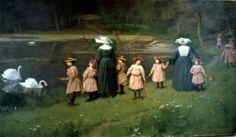 """""""Daughters of Charity of St. Vincent de Paul"""". Unknow artist. Original in Vincentian motherhouse, Paris."""