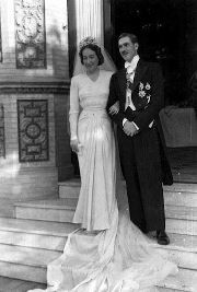 Petrópolis Antiga...Casamento de Dom Pedro Gastão e dona Esperança...em 1944 na cidade de Sevilha