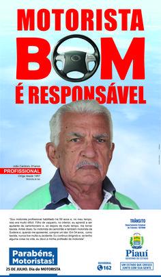 Anúncio III Para Jornal - Dia Do Motorista 2016 - Cliente Gov. Do Piauí