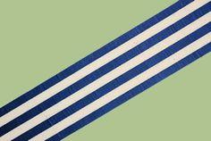 French Vintage Striped Ribbon