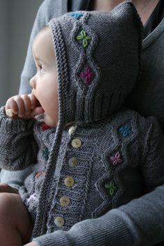 Miniklere şahane örgü süveter, hırka, atkı, bere ve yelekler | elitstil.com