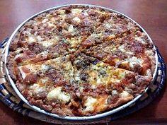 Receita de Pizza Com Calabresa