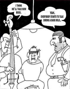Funny pictures about The 'bass solo' power. Oh, and cool pics about The 'bass solo' power. Also, The 'bass solo' power. Music Puns, Music Memes, Music Humor, Funny Music, Musician Jokes, Everybody Talks, Band Problems, Flute Problems, Band Jokes