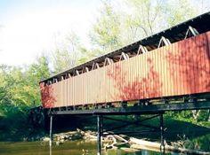 Carroll County Indiana Adam's Mill Bridge Cutler Indiana