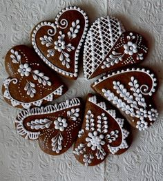 Xmas Cookies, Gingerbread Cookies, Christmas And New Year, Cookie Decorating, Desserts, Cake Decorations, Wafer Cookies, Cakes, Crack Crackers