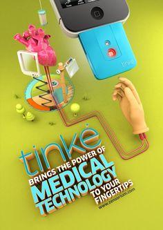TINKE by CRITICA , via Behance